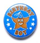 Birthday Boy School Badge
